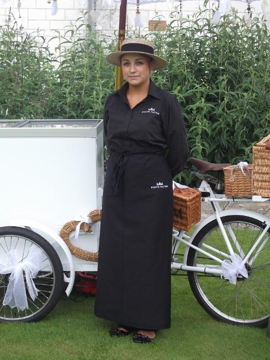 Ice Cream Bike - Uniformed Staff