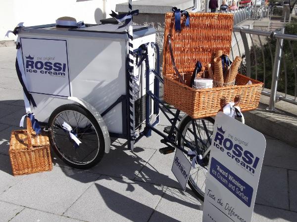 Branded Ice Cream Bike