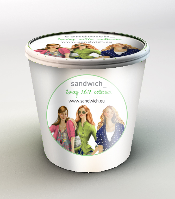 ice-cream-tubs-fashion-show
